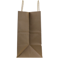 Medium Kraft Paper Shopper Bag Thumb