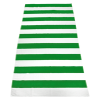 Lime Green Santa Maria Striped Beach Towel Thumb