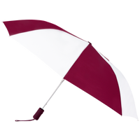 Burgundy/White Atlas Umbrella Thumb