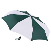 Hunter/White Aquarius totes® Umbrella Thumb