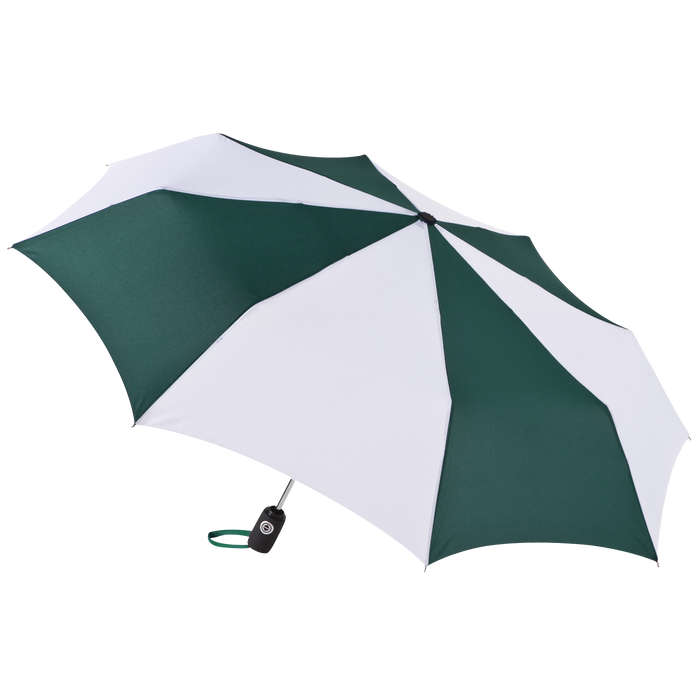 Hunter/White Aquarius totes® Umbrella