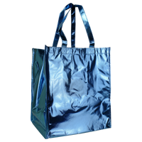 Metallic Blue	 Metallic Big Storm Grocery Bag Thumb
