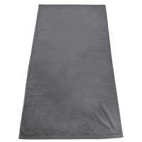 Grey Gypsea Color Beach Towel Thumb