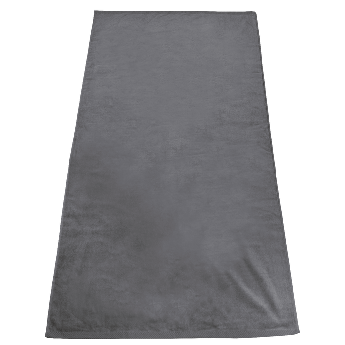 Grey Gypsea Color Beach Towel