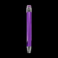 Purple with Blue Ink Chrome Stylus Pen Thumb