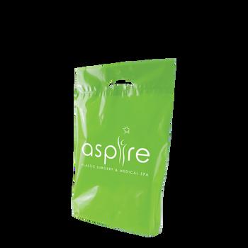 Medium Eco-Friendly Die Cut Plastic Bag
