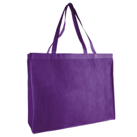 Purple Convention Tote Plus Thumb