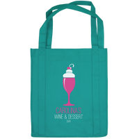 Wine & Dine Reusable Tote Bag Thumb