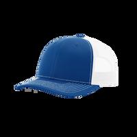 Royal/White Richardson Trucker Snapback Hat Thumb