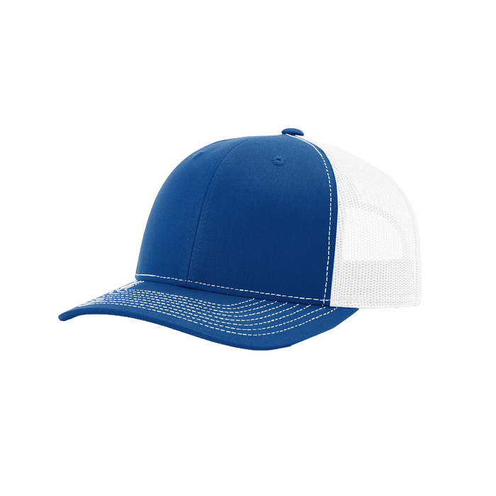 Royal/White Richardson Trucker Snapback Hat