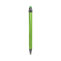 Lime Green with Black Ink Chrome Stylus Pen Thumb
