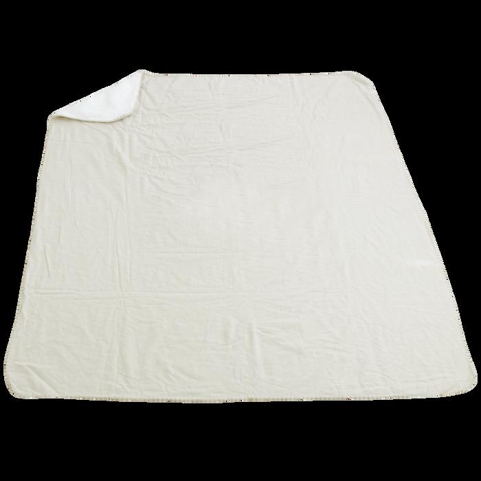Natural Linen Slaggard Linen Blanket