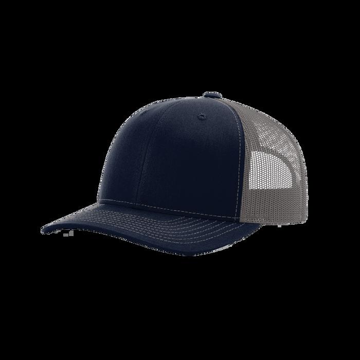Navy/Charcoal Richardson Trucker Snapback Hat