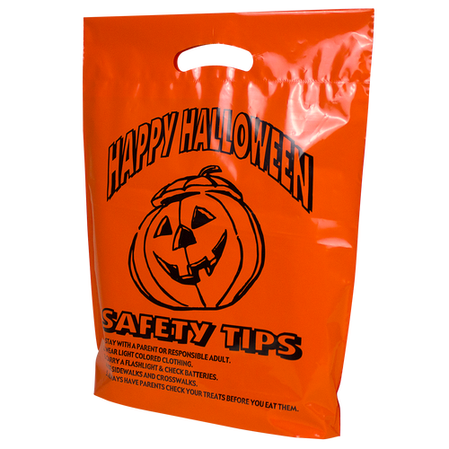 Pumpkin Safety Tips Bag