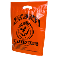 Orange Pumpkin Safety Tips Bag Thumb