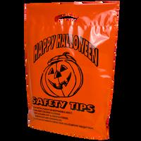 Orange Pumpkin Safety Tips Bag Thumb