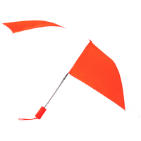Orange/White Atlas Umbrella Thumb