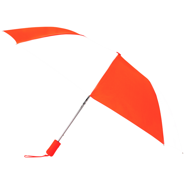 Orange/White Atlas Umbrella