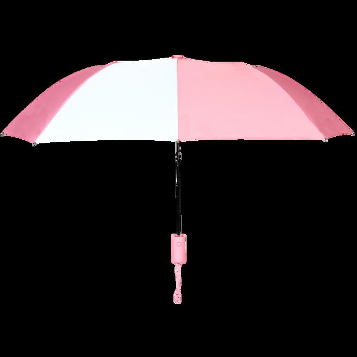 Pink/White Polaris Umbrella