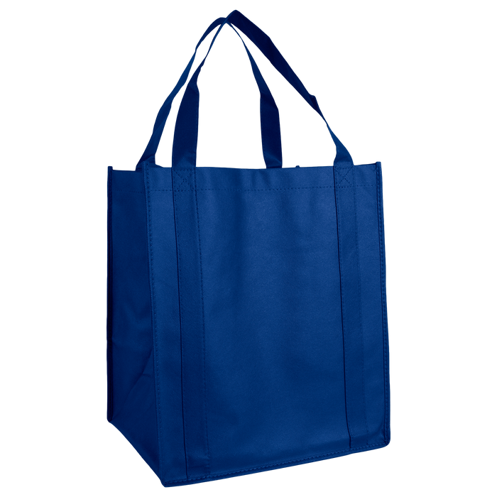 Royal Blue Wine & Dine Reusable Tote Bag