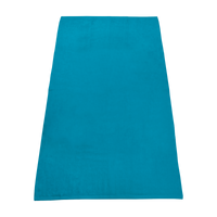 Turquoise Value Line Color Beach Towel Thumb