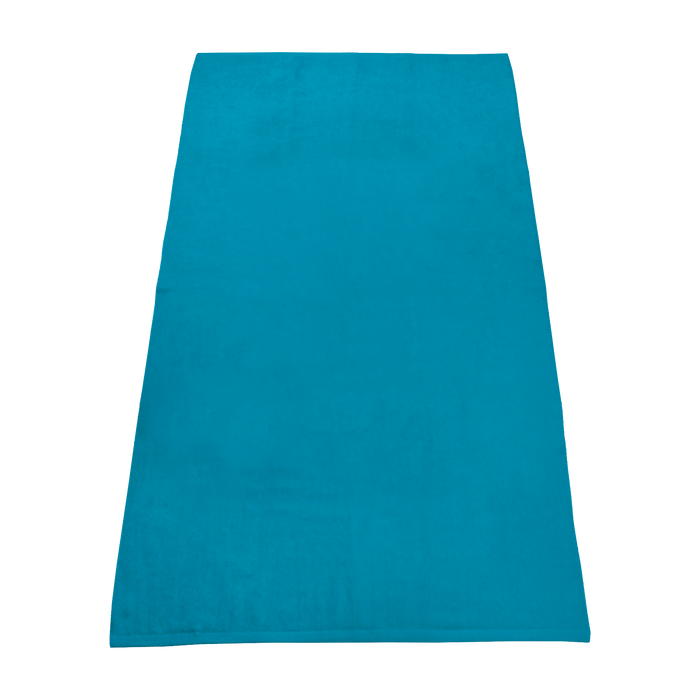 Turquoise Value Line Color Beach Towel