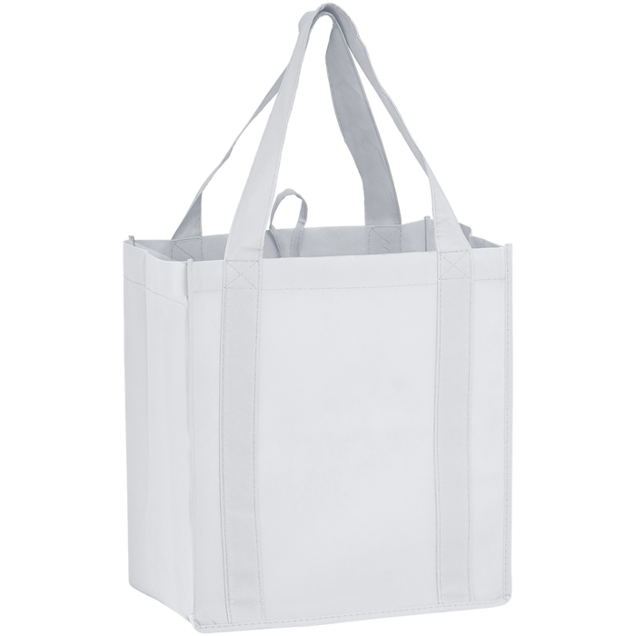 White Little Storm Grocery Bag