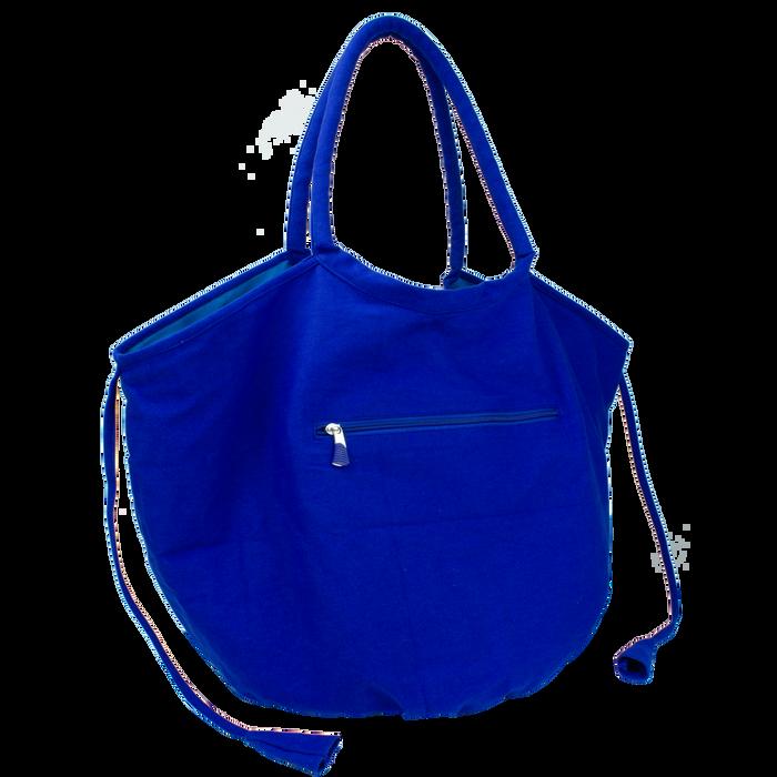 Royal Tropical Reversible Beach Bag