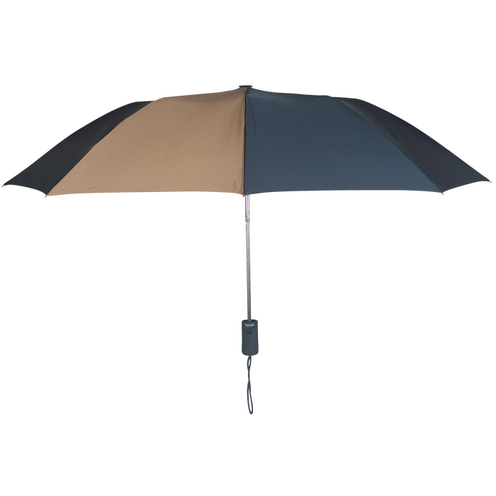 Navy/Tan Polaris Umbrella