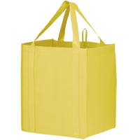Yellow Big Storm Grocery Bag Thumb