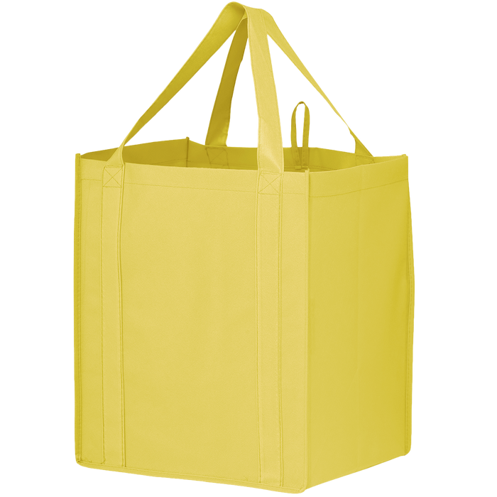 Yellow Big Storm Grocery Bag