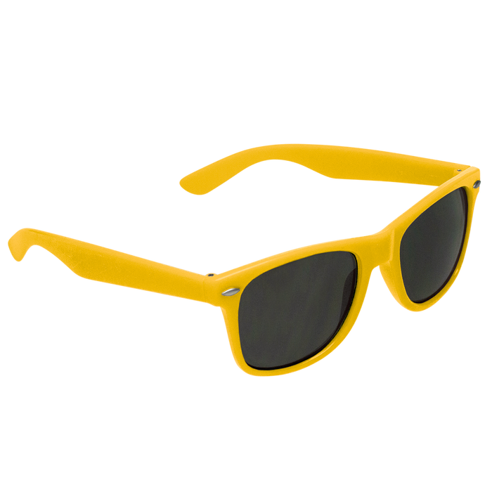 Yellow Classic Color Sunglasses