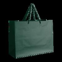 Hunter Green Medium Matte Shopper Bag Thumb