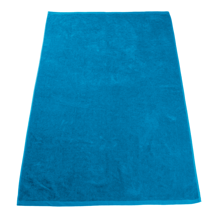 Turquoise Seascape Color Beach Towel