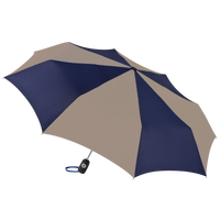 Navy/Tan Aquarius totes® Umbrella Thumb