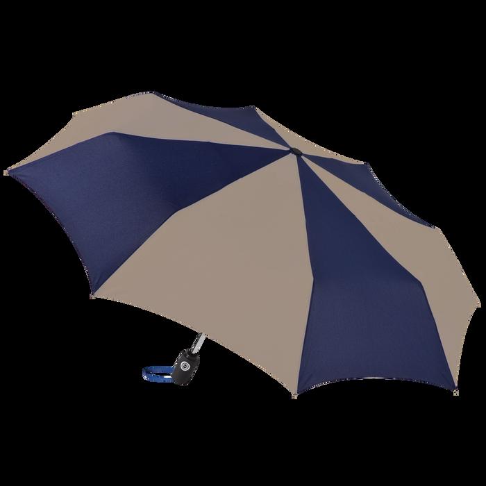 Navy/Tan Aquarius totes® Umbrella