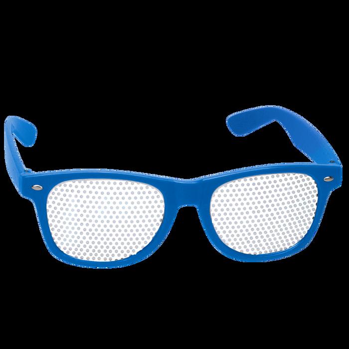 Royal Blue Vegas Sunglasses