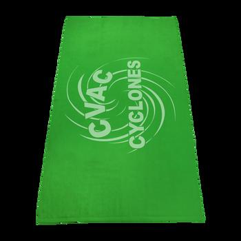 color beach towels,  silkscreen imprint,