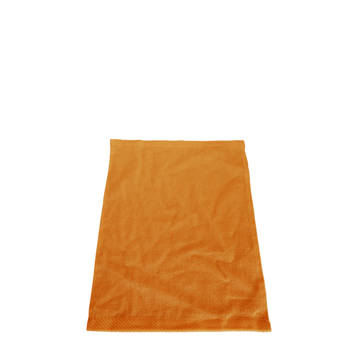 Tangerine Balance Color Fitness Towel