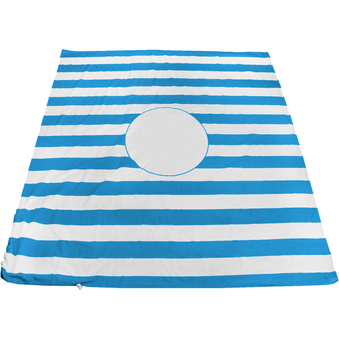 Turquoise Mainland Beach Blanket Bag