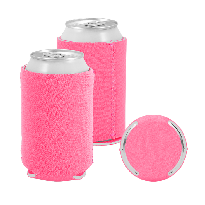 Bubblegum Premium Collapsible Neoprene Koozie