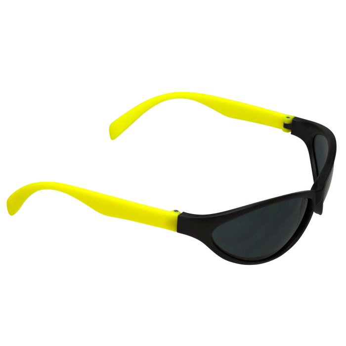 Neon Yellow Value Sport Sunglasses