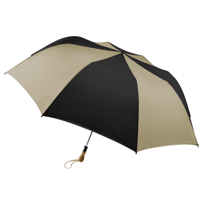 Tan/Black Leo Umbrella