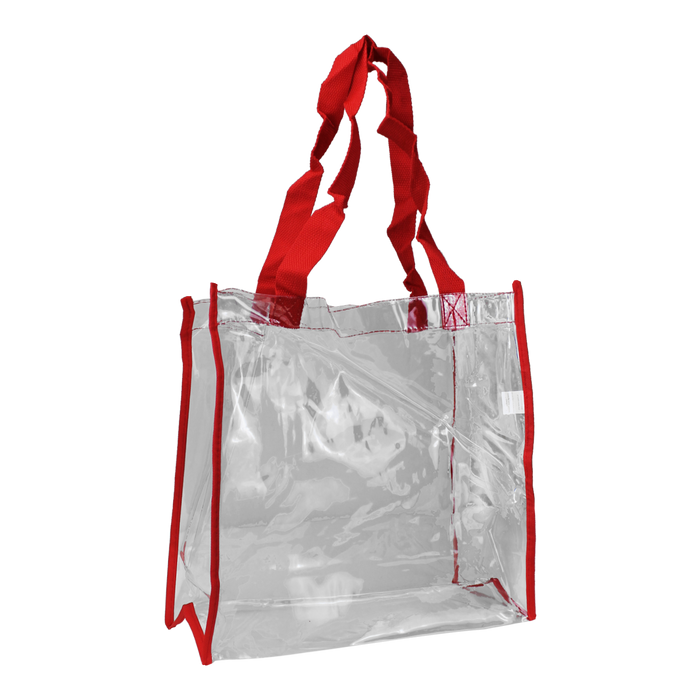 Red Standard Vinyl Tote Bag