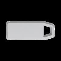 White Mini Clip-On Bluetooth Speaker Thumb