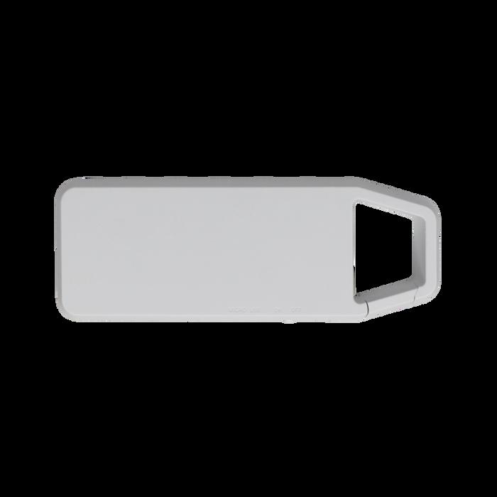 White Mini Clip-On Bluetooth Speaker