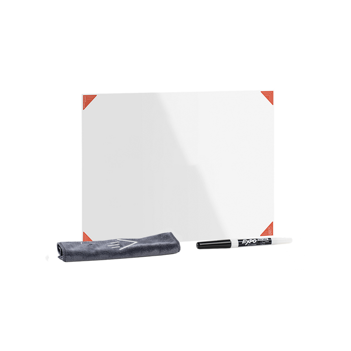 White Think Board X2 Small