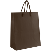 Chocolate Small Matte Shopper Bag Thumb