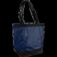 Navy Clipper Beach Tote Bag Thumb