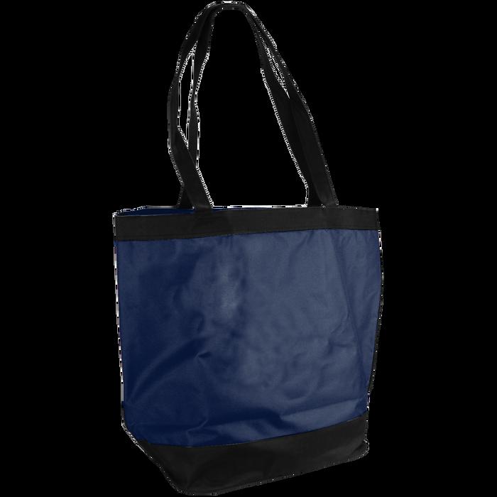 Navy Clipper Beach Tote Bag